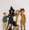 einzigartige ideen halloween kostüme für kinder hexe löwe fee verkleidung mädchen und jungs