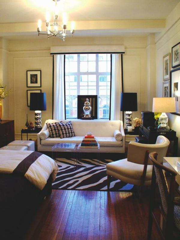 140 bilder einzimmerwohnung einrichten for Decoracion de casas minimalistas pequenas