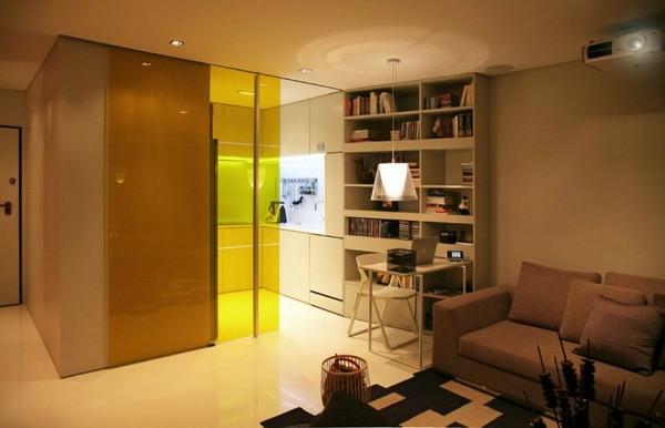 einzimmerwohnung-einrichten-elegante-beleuchtung