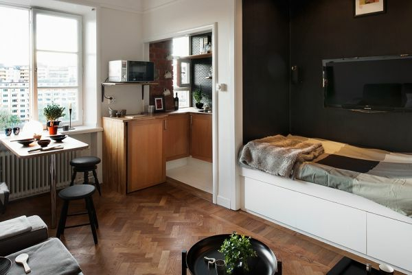 Kleine Einzimmerwohnung Einrichten