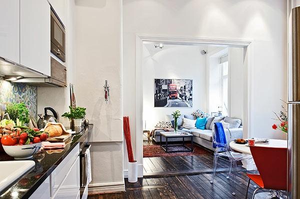 140 bilder - einzimmerwohnung einrichten! - archzine.net - Einzimmerwohnung Wohnideen