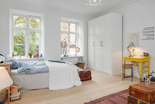 einzimmerwohnung-einrichten-schönes-bett-design