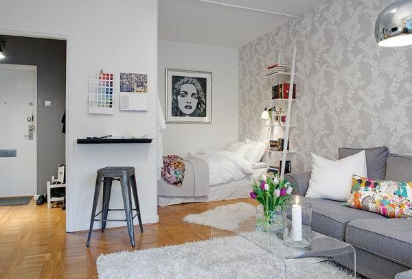 140 bilder einzimmerwohnung einrichten for Einzimmerwohnung design
