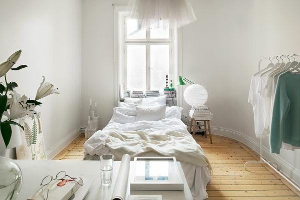 einzimmerwohnung-einrichten-sehr-schlcihte-gestaltung