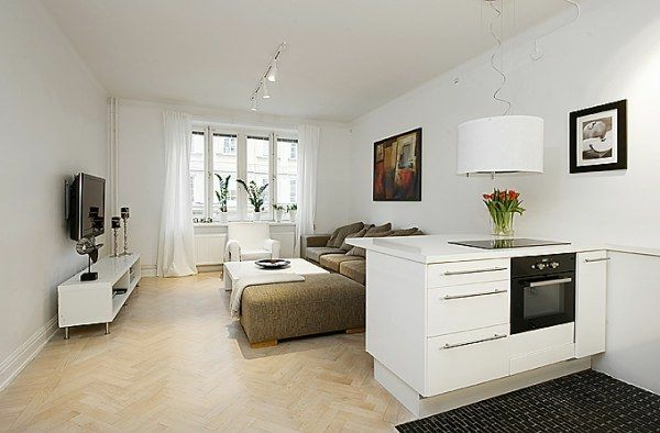 140 bilder einzimmerwohnung einrichten. Black Bedroom Furniture Sets. Home Design Ideas