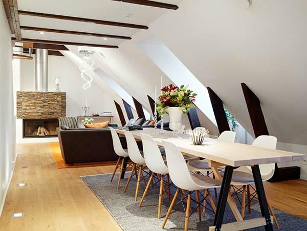 einzimmerwohnung-einrichten-tisch-mit-vielen-stühlen