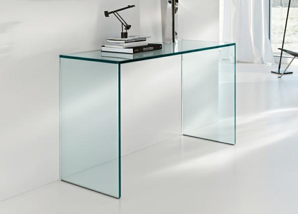 gläserner-Schreibtisch-Innendesign-Büro