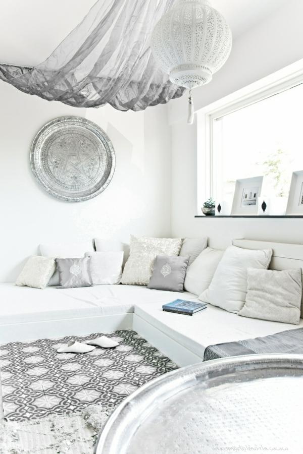 Emejing Moderne Marokkanische Wohnzimmer Images   Barsetka, Wohnzimmer