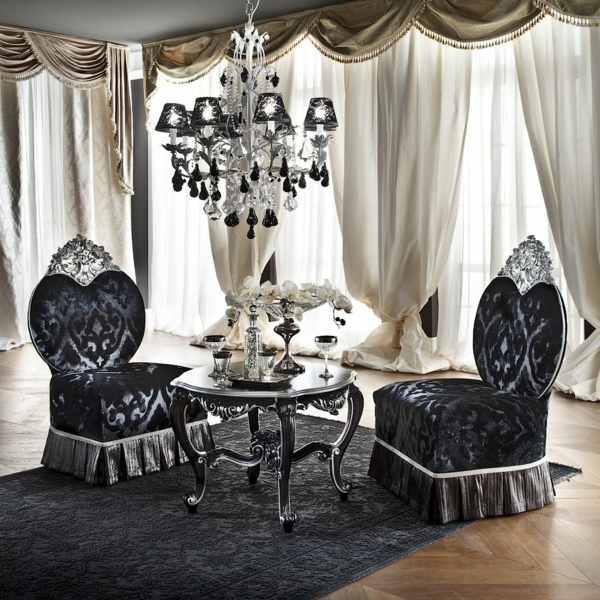 37 coole modelle vom barock sessel - Barock wohnzimmer ...