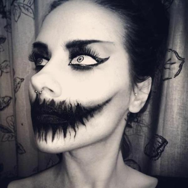 erschreckende-Gesichter-Halloween-Make-up-Ideen-