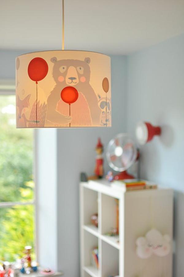 erstaunliche-Deckenlampe -Kinderzimmer-Bär