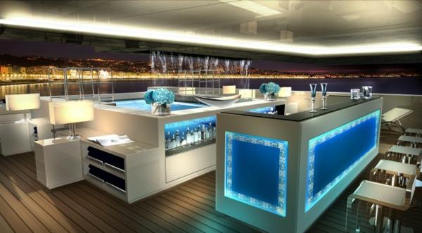 Luxusyachten innen  90 unglaubliche Designs von Luxusyachten! - Archzine.net