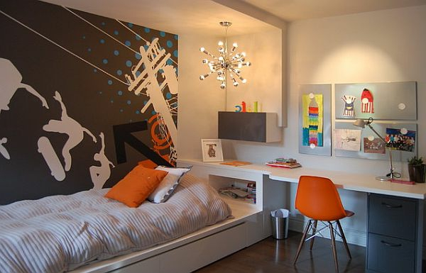 kleine kinderzimmer optimal gestalten. Black Bedroom Furniture Sets. Home Design Ideas