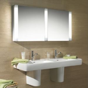 Badezimmer Spiegelschrank mit Beleuchtung - schöne Ideen!
