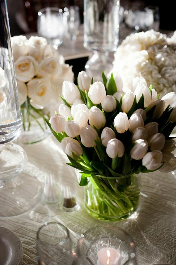 100 tolle Ideen für Tischdeko mit Tulpen! - Archzine.net