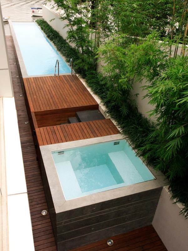 schwimmingpool für den garten - 35 prima designs! - archzine, Garten und Bauen