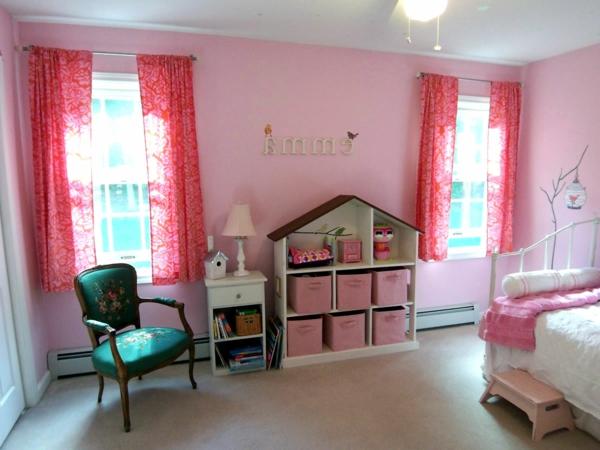 100 faszinierende rosa schlafzimmer! - archzine.net - Kinderzimmer Rosa Wand