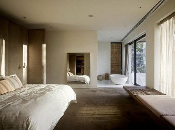 Schlafzimmer wand grau: best house and apartment with grey designs ...