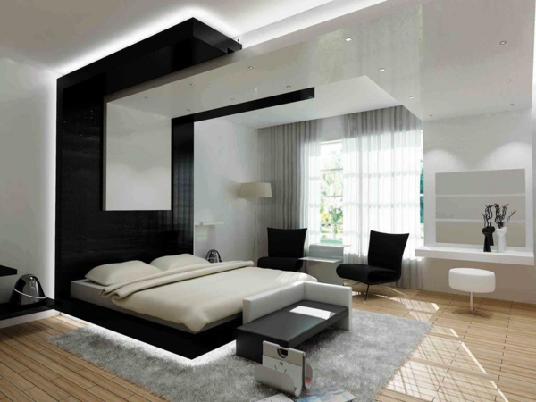 34 neue ideen f r farbgestaltung im schlafzimmer. Black Bedroom Furniture Sets. Home Design Ideas