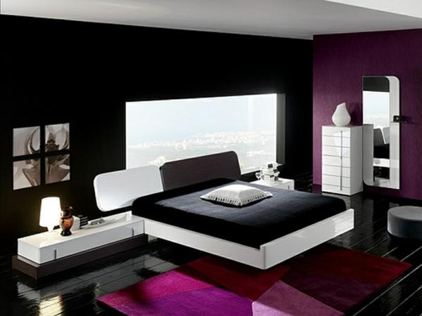 34 neue ideen für farbgestaltung im schlafzimmer! - archzine, Schlafzimmer ideen