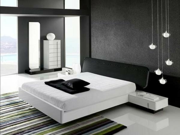 Wandgestaltung Schlafzimmer Modern - Design