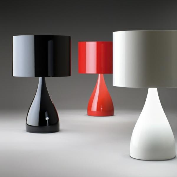 wundersch ne farbige tischleuchten. Black Bedroom Furniture Sets. Home Design Ideas