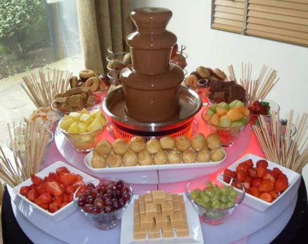 Schokoladenbrunnen - eine schmackhafte Idee! - Archzine.net