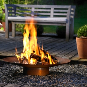 Feuerstelle im Garten - 36 prima Designs!