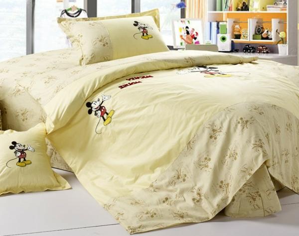 gelbe-Mickey-Maus-Bettwäsche
