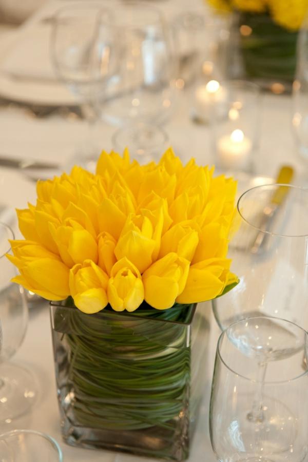 100 Tolle Ideen Fur Tischdeko Mit Tulpen Archzine Net
