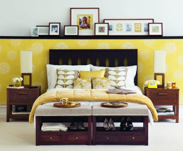 gelbe-farbgestaltung-im-schlafzimmer-cooles-interieur