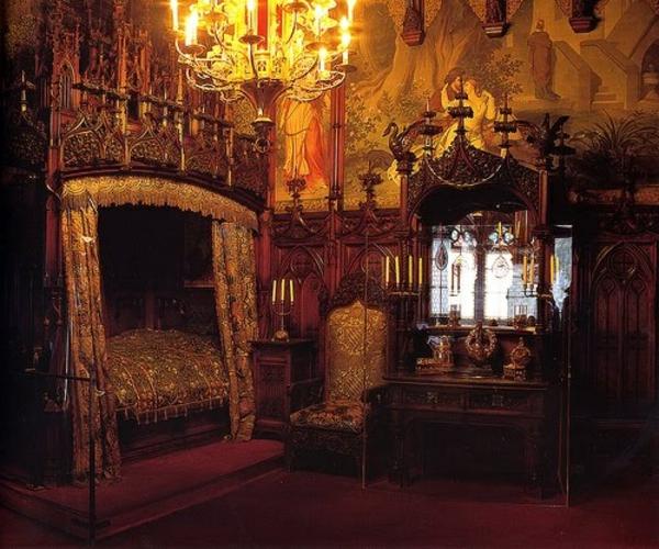 110 verblüffende Ideen für Gothic Zimmer! - Archzine.net