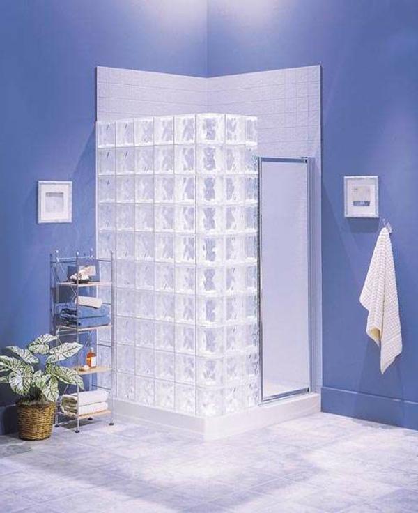 Glasbausteine für Dusche – 44 prima Bilder!
