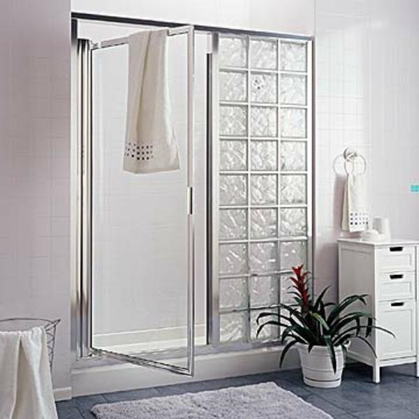 Schon Glasbausteine Für Dusche Moderne Gestaltung