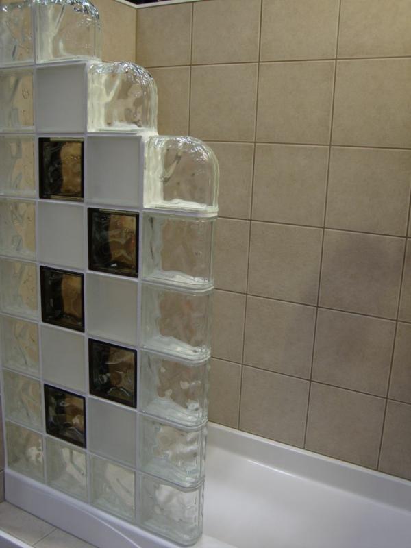 Glasbausteine Im Badezimmer – ElvenBride.com | {Glasbausteine badgestaltung 54}