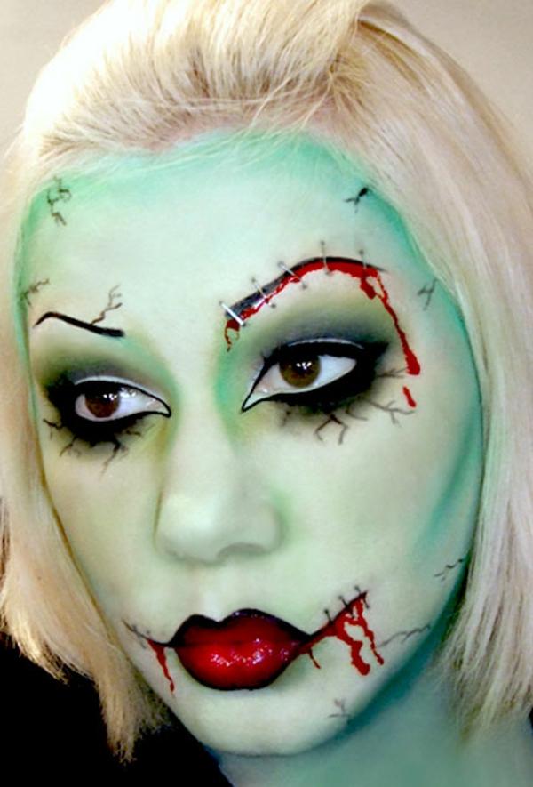 professionelles halloween schminken