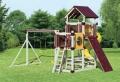 Spielturm mit Rutsche und Schaukel – 25 Modelle