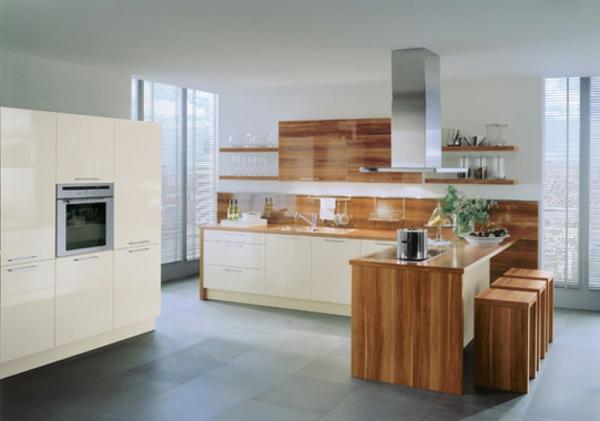 Moderne Kuchen Weiss Holz – Ailedange.info | {U küchen holz 17}