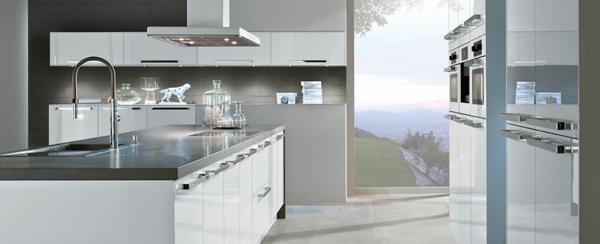 Häcker Küchen Teil 1: 38 auffällige Designs! - Archzine.net | {Küchenzeile modern weiß 82}