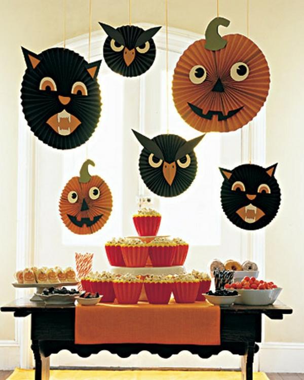 hängende-deko-für-halloween-kinderparty