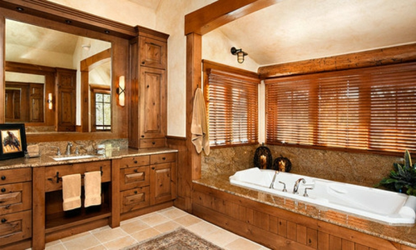 Badm bel im landhaus stil 34 bilder - Rustikale badmobel ...