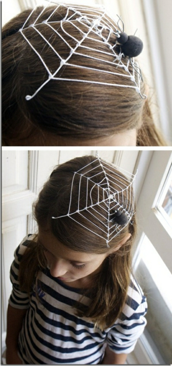 halloween-frisuren-spinnennetz
