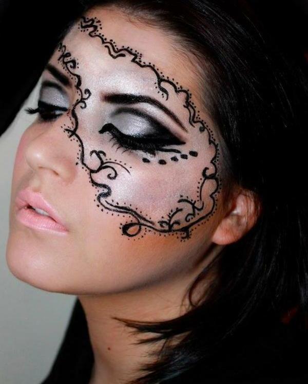 halloween-gesichter-schickes-aussehen