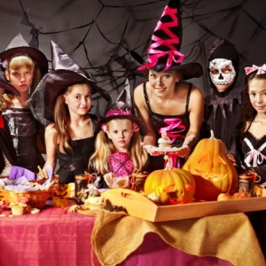 Halloween Kinderparty machen - 66 Bilder!
