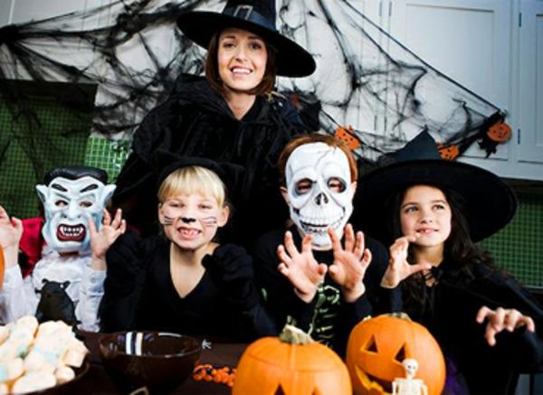 halloween-kinderparty machen