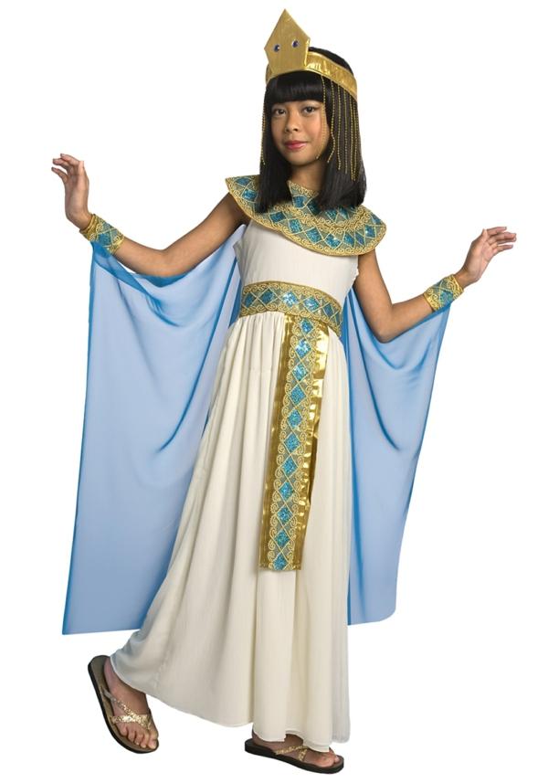 halloween-kostüme-für-kinder-kleopatra
