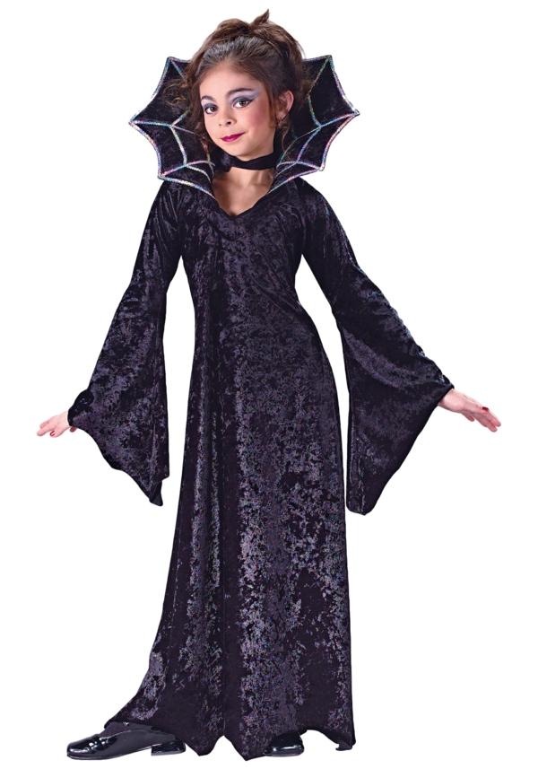 halloween-kostüme-für-kinder-weiblicher-vampir
