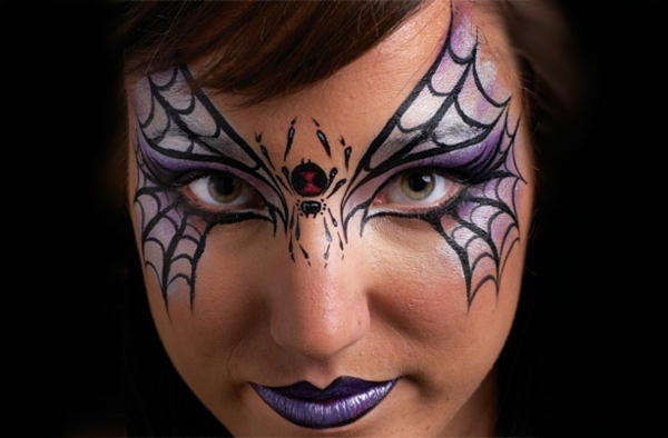 halloween make up ideen bilder von hexen