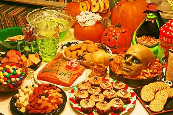 halloween-party-ideen-bunte-farben