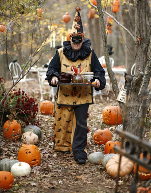 halloween-party-ideen-im-wald